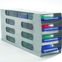 Arctic Squares Freezer Rack with Horizontal Drawers