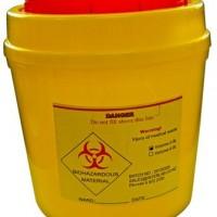 1.7L Biohazard Container.   KJ826